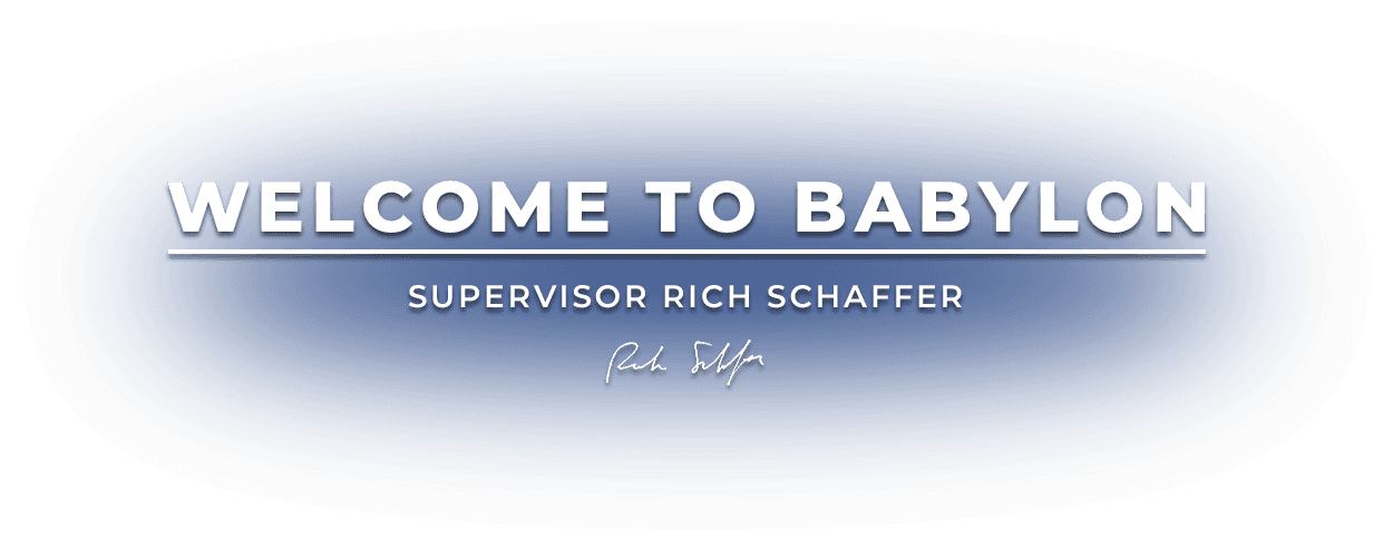 Welcome to Babylon, Supervisor Rich Schaffer
