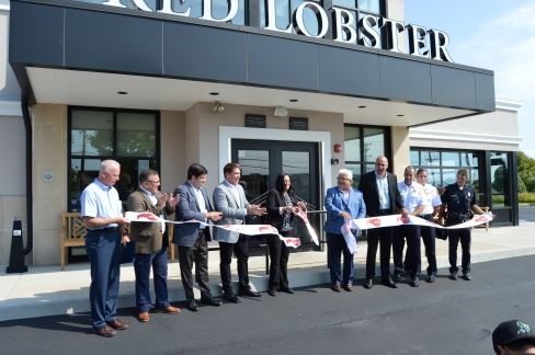 Red Lobster Ribbon Cutting