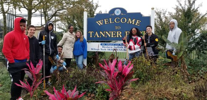 Tanner Park Clean Up