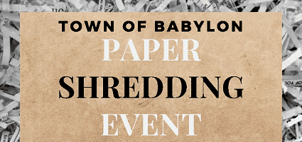 Paper Shredding Event Flyer clip