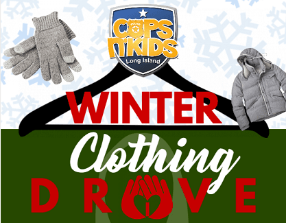Winter Clothing Drive Clip