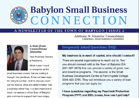 Business Newsletter Cover