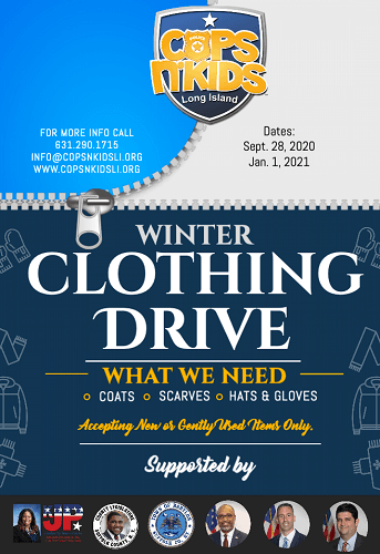 CNKLI Winter Clothing Drive 2020 Updated small