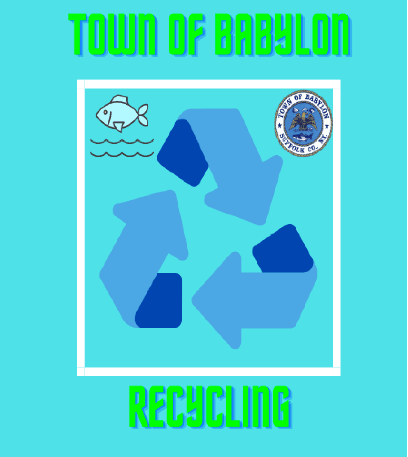 Recycling Booklet Cover (PNG)