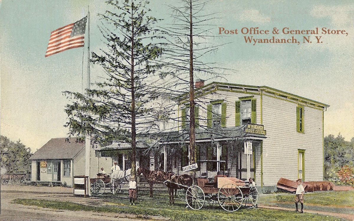 Post Office and General Store in Wyandanch
